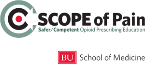Logo for BUSM SCOPE of Pain